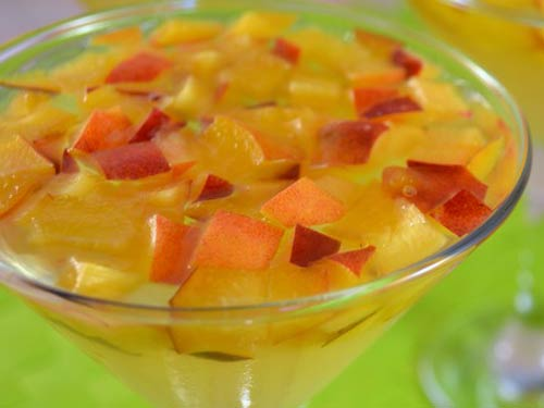 желе из персиков рецепт