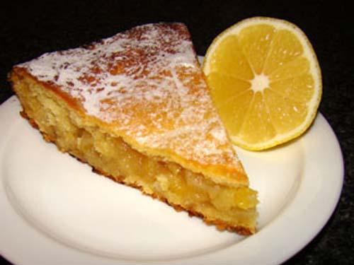 Песочное тесто лимонный пирог рецепт с пошагово в