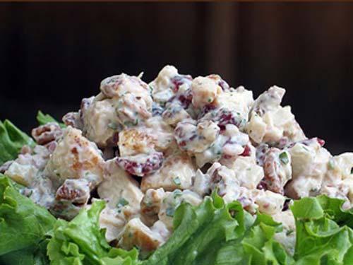 рецепт вкусного салата с листьями салата