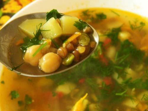 Суп из трех круп